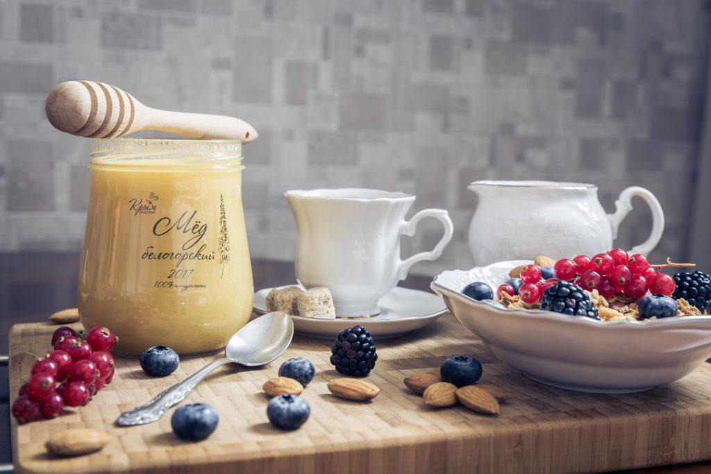 Купить мёд Белогорский из Крыма