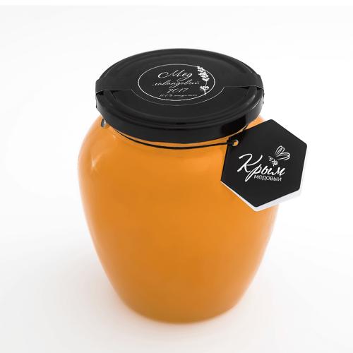 Мёд лавандовый, 2,12 кг