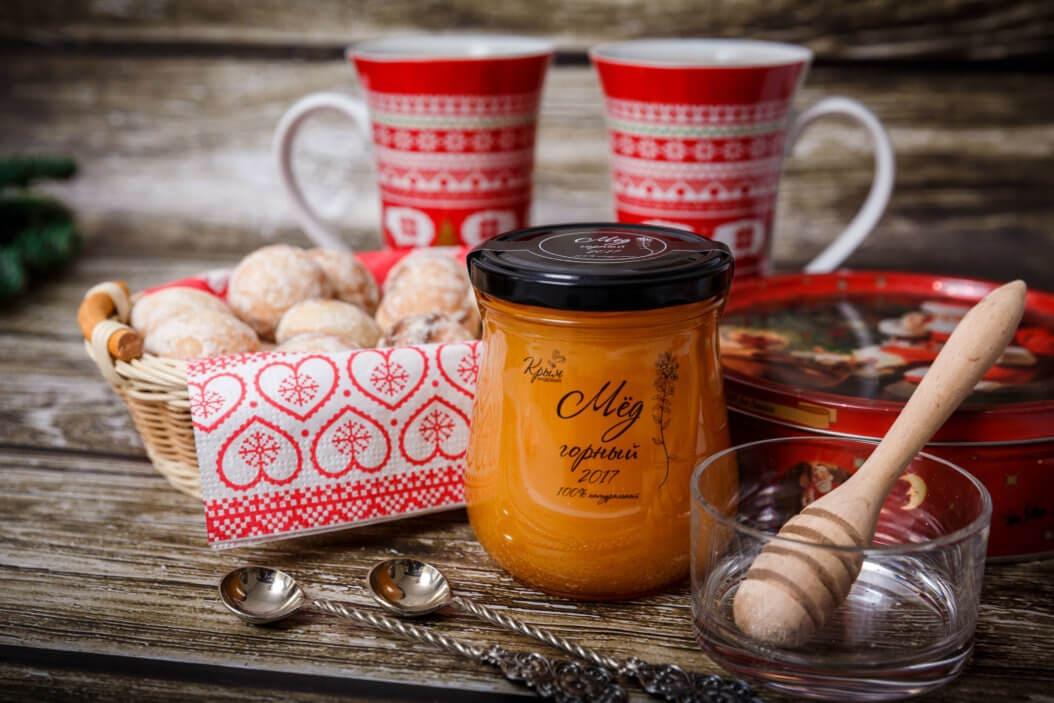 горячий шоколад с мёдом