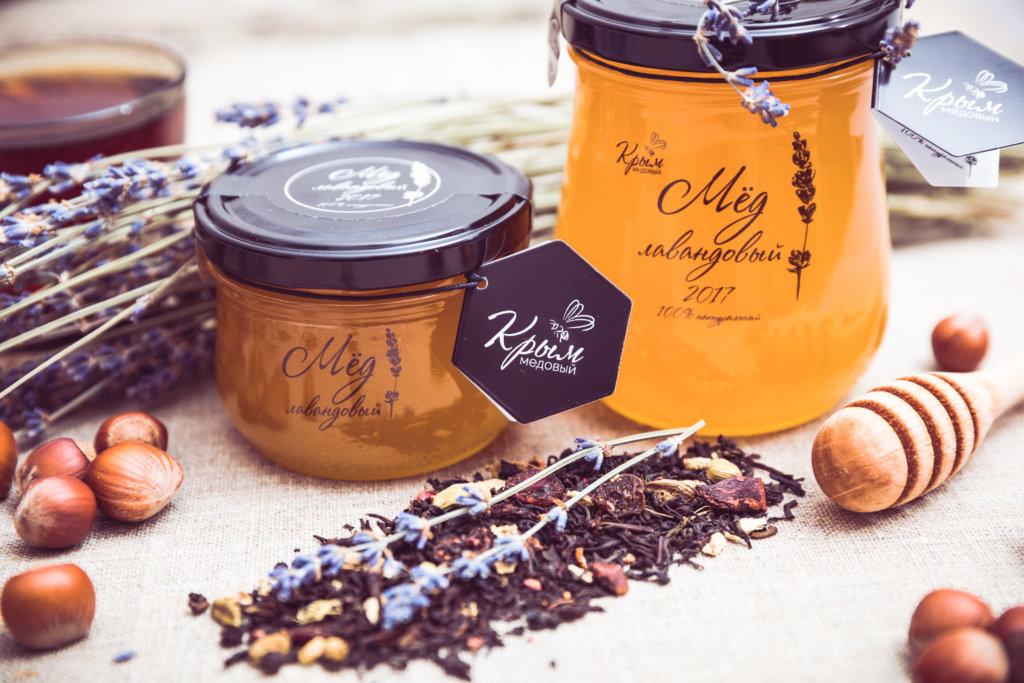 натуральный лавандовый мёд
