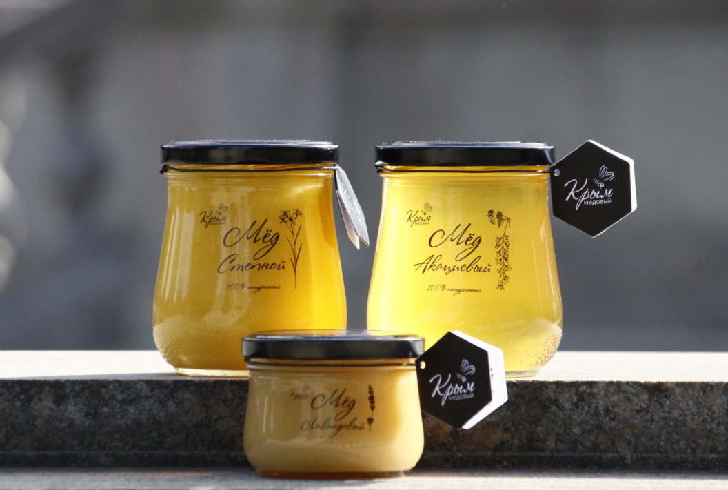 Мёд натуральный ТМ Крым Медовый