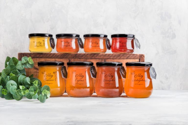 Девять вкусов мёда 2018 года с крымской пасеки