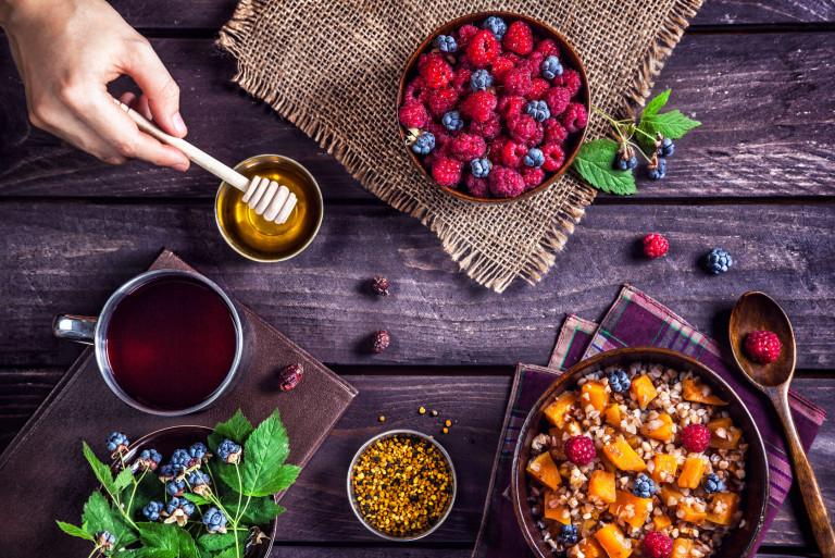 Мед в системе сбалансированного питания
