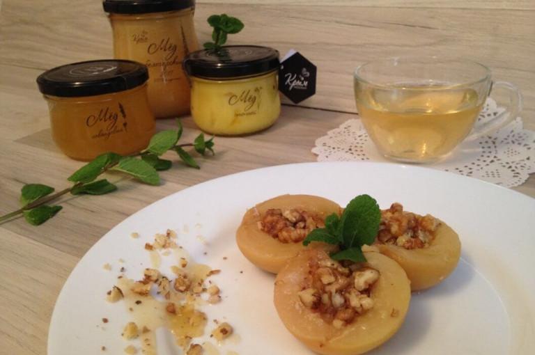 Рецепт Консервированные персики с мёдом