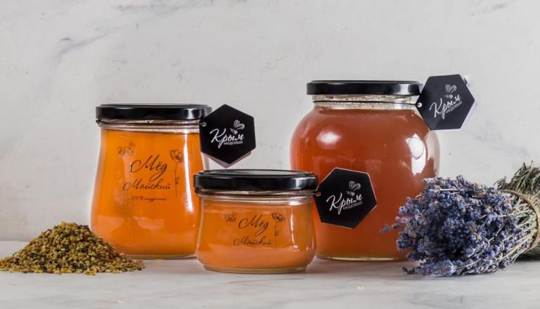 Майский мёд с пасеки Медовый Крым